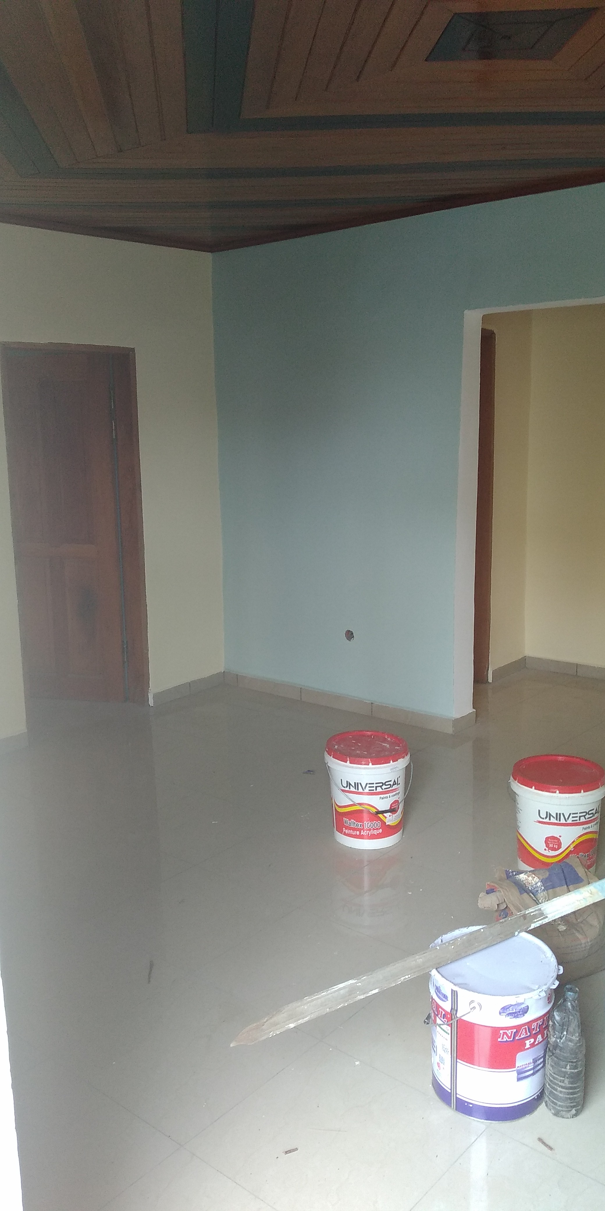 Apartment to rent - Douala, Logpom, Carrefour Gabon Bar - 1 living room(s), 2 bedroom(s), 1 bathroom(s) - 85 000 FCFA / month